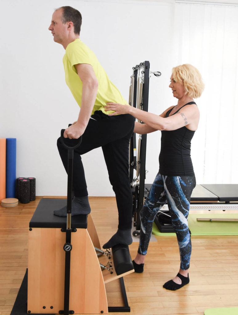 Pilates Uebung Gereat