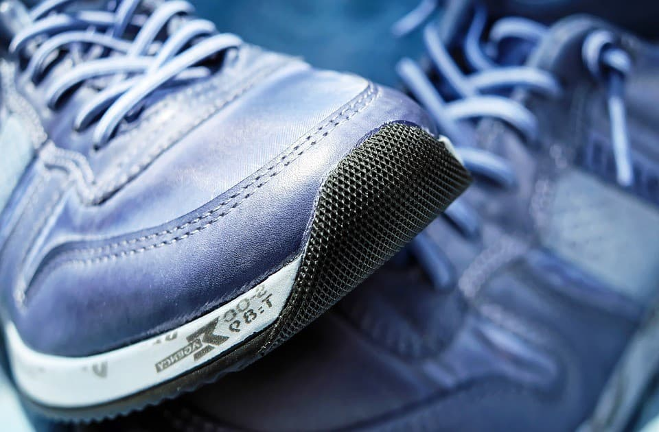 Bewegung Schuh