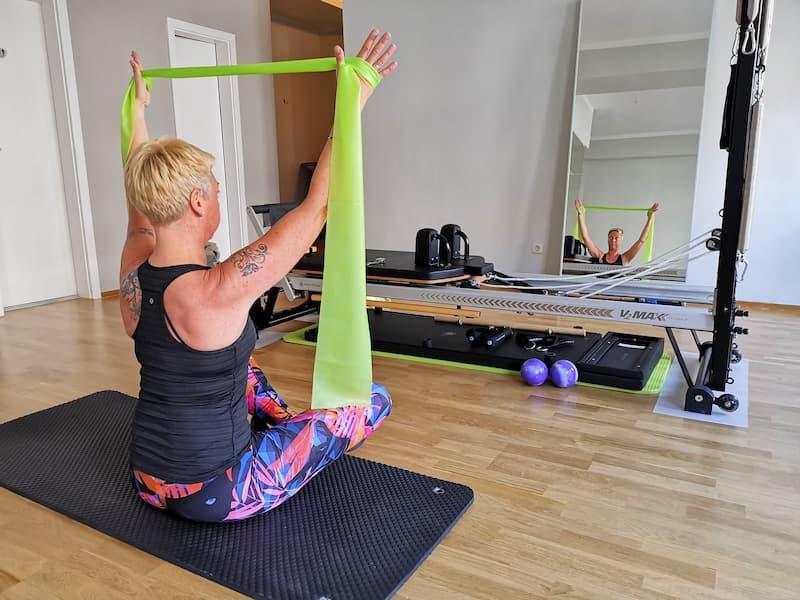 Ina Beim Training